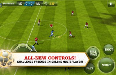 Multiplayer games: download FIFA 13 by EA SPORTS to your phone