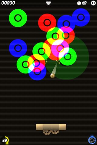 Screenshot Anodia auf dem iPhone