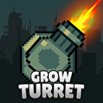 Grow turret: Idle clicker defense icône