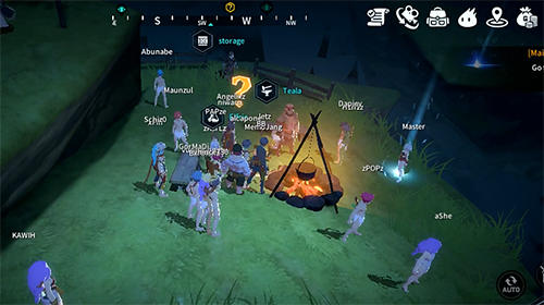 Teetiny online: Open world MMORPG pour Android