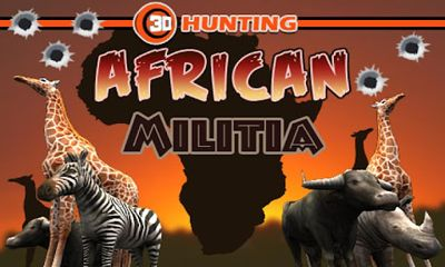 3D Hunting African Militia icon