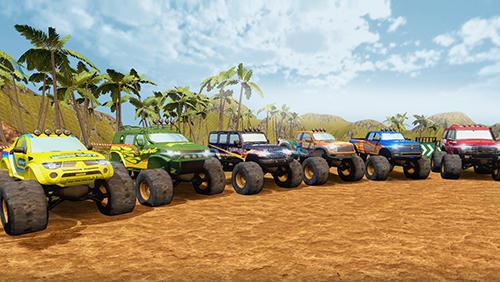 Monster truck offroad rally 3D auf Deutsch