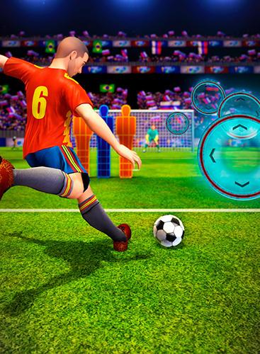 Shoot 2 goal: World multiplayer soccer cup 2018 auf Deutsch