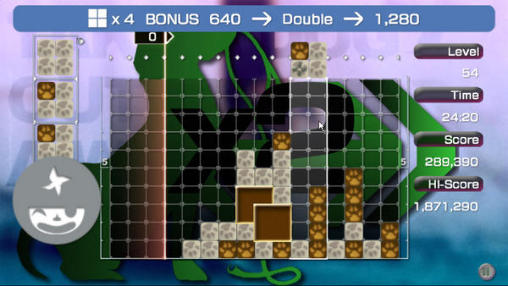 Lumines screenshot 1
