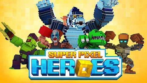 Super pixel heroes Screenshot