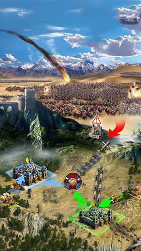Online Strategiespiele Throne of magic auf Deutsch