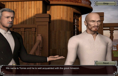 iPhone用ゲーム エピック冒険:ジャンガダ のスクリーンショット