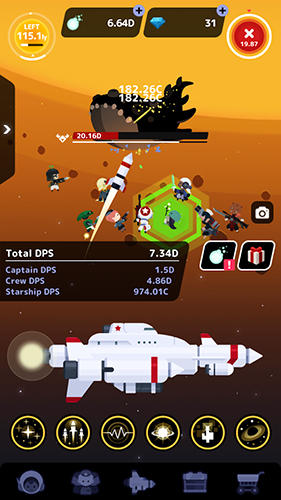 Tap! Captain Star für Android