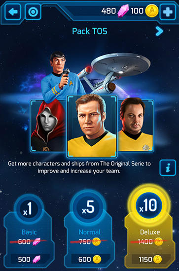 Star trek: Wrath of gems für Android