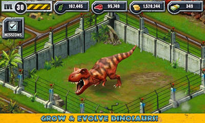 Jurassic Park Builder Screenshot