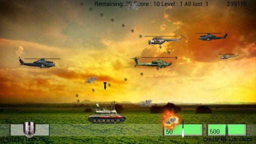 Arcade Air defence für das Smartphone