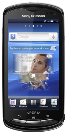 Download games for Sony-Ericsson XPERIA pro for free
