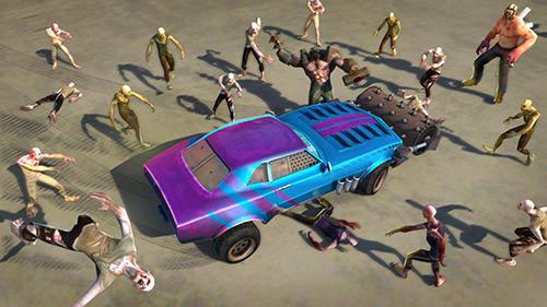 Rennspiele Zombie smash: Road kill für das Smartphone
