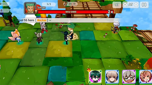 Chibi heroes screenshot 1