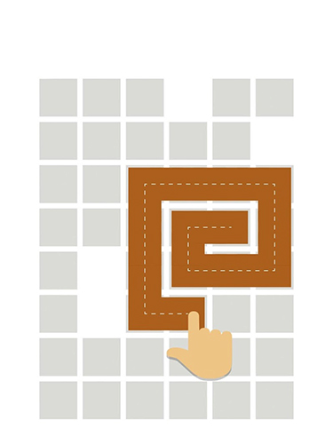 Fill: One-line puzzle game für Android