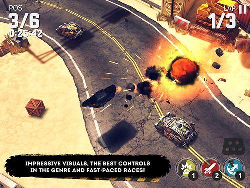 Multiplayerspiele: Lade Autowut auf dein Handy herunter
