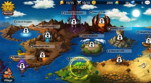 Strategie RPG Wonder tactics auf Deutsch