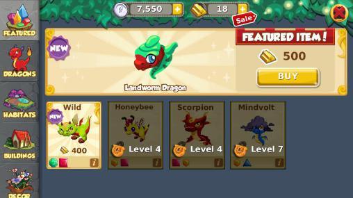 Dragon story: Halloween screenshots