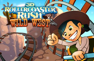 logo Wild West 3D Rollercoaster Rush