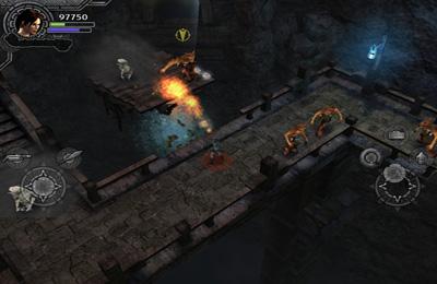 iPhone用ゲーム ララ・クロフト・アンド・ガーディアン・オブ・ライト のスクリーンショット