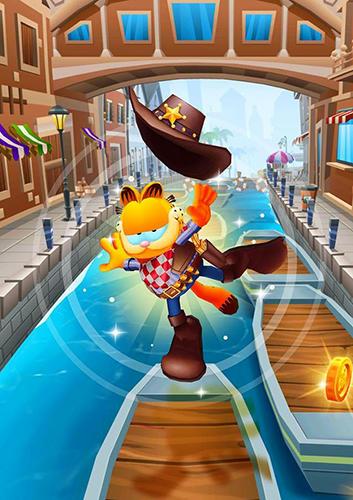 Jogos educativos para crianças Garfield rush em portugues