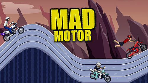 Mad motor: Motocross racing. Dirt bike racing capture d'écran