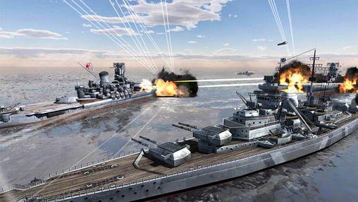 Скріншот World of navy ships на iPhone