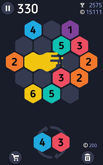 Make 7! Hexa puzzle screenshot 2