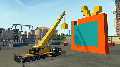 Construction and crane simulator 2017 für Android