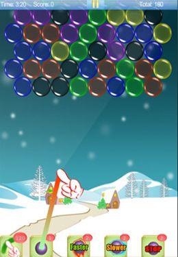 Arcade: Lade Zauberhafter Finger: Weihnachtskugeln Bubble auf dein Handy herunter