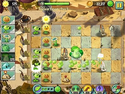 Plants vs Zombies 2 screenshot 2