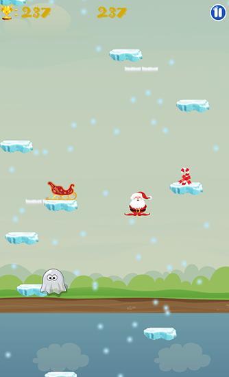 d'arcade Christmas: Run Santa run pour smartphone