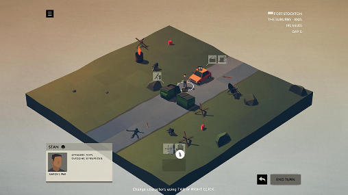 Simulation games Overland for smartphone