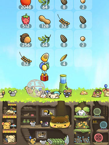 2048 Hamsland: Hamster paradise für Android