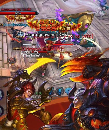 Strategie RPG Rage of the righteous auf Deutsch