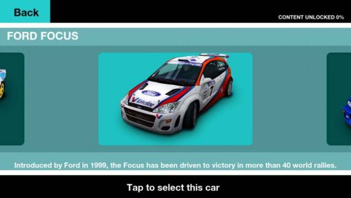 Colin McRae rally for Android