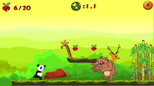 Jungle panda run für Android