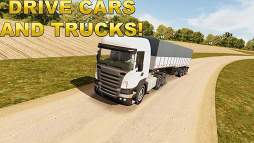 Trucks Just drive simulator auf Deutsch