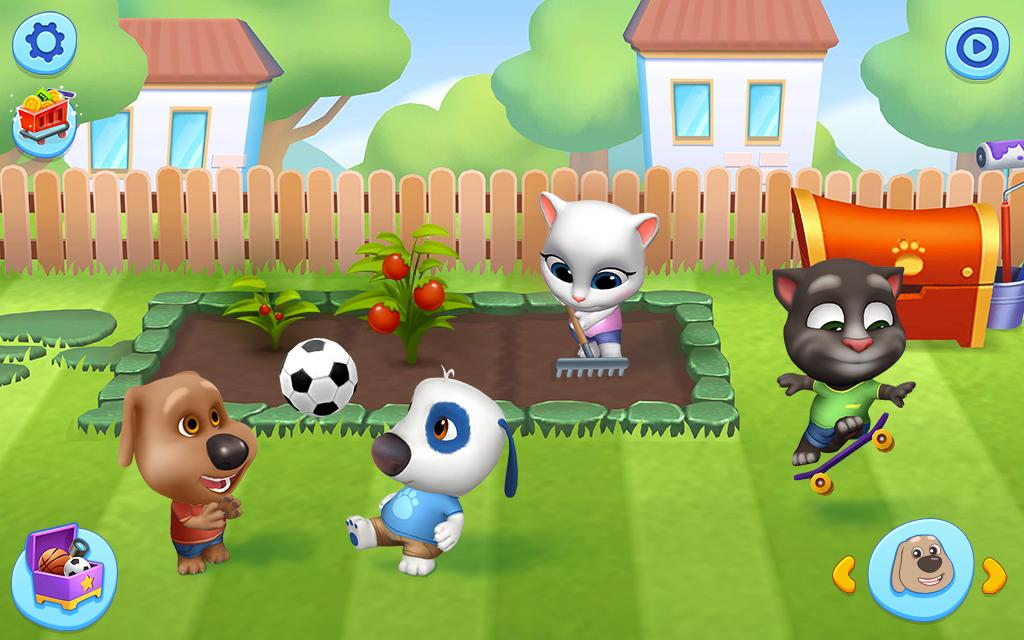 My Talking Tom Friends screenshot 1