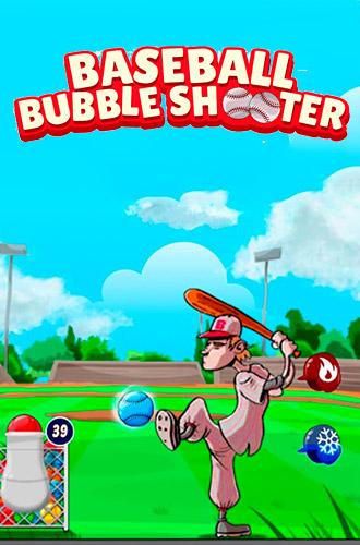 Baseball bubble shooter: Hit a homerun captura de tela 1