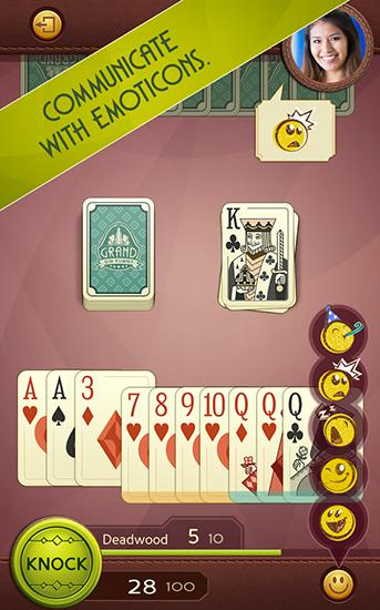 Grand gin rummy for Android