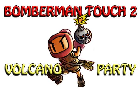 логотип Удар Бомбермена 2: Вулканическая вечеринка