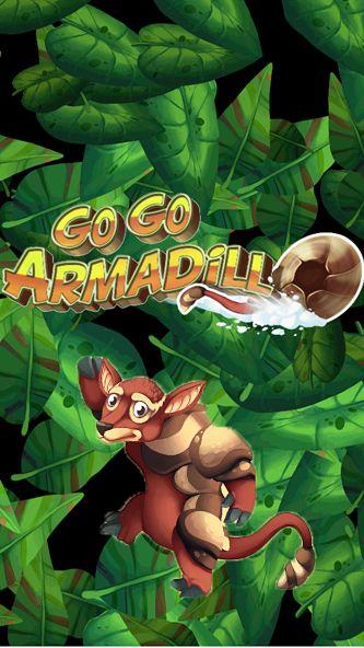 logo Go Go Armadillo!