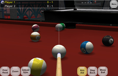 Poolbilliard Online für iPhone
