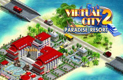 logo Ciudad virtual 2: Lugar paradisíaco