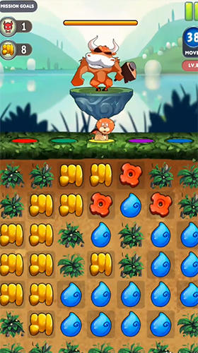 Pet superheroes adventure puzzle quest para Android