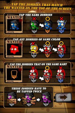 Begehrte Zombies für iPhone