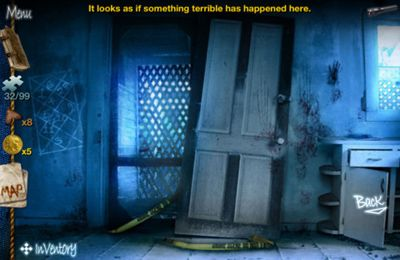 Screenshot Das Geisterhaus auf dem iPhone