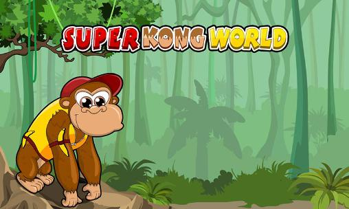 Иконка Super kong world