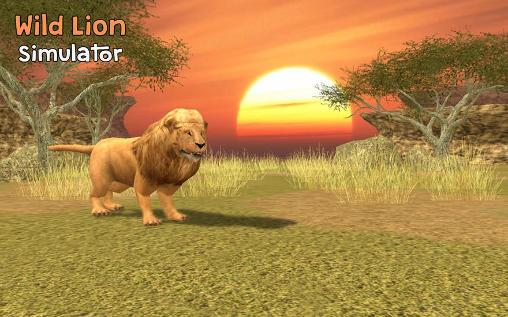 Wild lion simulator 3D скриншот 1